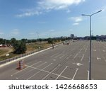 parking of commercial center in ... | Shutterstock . vector #1426668653