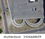 parking of commercial center in ... | Shutterstock . vector #1426668659