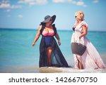 happy plus suze  adult women...   Shutterstock . vector #1426670750