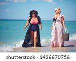 happy plus suze  adult women...   Shutterstock . vector #1426670756