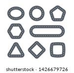road icons for cars in the form ... | Shutterstock .eps vector #1426679726