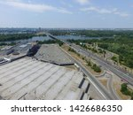 road in kiev at summer time ... | Shutterstock . vector #1426686350