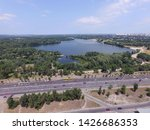 road in kiev at summer time ... | Shutterstock . vector #1426686353