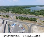 road in kiev at summer time ... | Shutterstock . vector #1426686356
