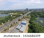 road in kiev at summer time ... | Shutterstock . vector #1426686359