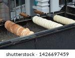 traditional hungarian street...   Shutterstock . vector #1426697459