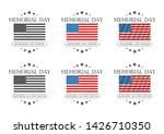 memorial day. remember and... | Shutterstock . vector #1426710350
