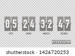 countdown timer on isolated...