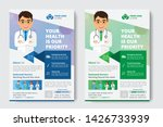 medical flyer poster pamphlet... | Shutterstock .eps vector #1426733939