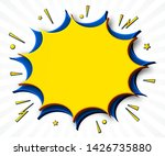 comics background. cartoon... | Shutterstock .eps vector #1426735880