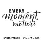 Every Moments Matters Hand...