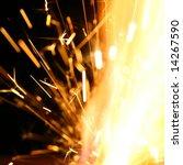 abstract spark | Shutterstock . vector #14267590