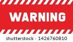 warning attention please do not ...   Shutterstock .eps vector #1426760810