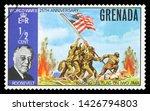 grenada   circa 1970  stamp...   Shutterstock . vector #1426794803
