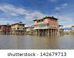 inlay lake  myanmar   june 4 ... | Shutterstock . vector #142679713