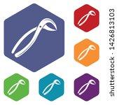 tooth pliers medicine icon.... | Shutterstock .eps vector #1426813103