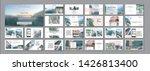 social media pack. business... | Shutterstock .eps vector #1426813400