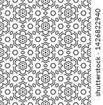 geometric shape seamless... | Shutterstock .eps vector #1426822940