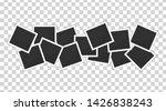 polaroid photo frames. square... | Shutterstock .eps vector #1426838243