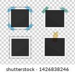 polaroid photo frames. square... | Shutterstock .eps vector #1426838246
