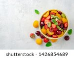 Healthy Fresh Fruit Salad In...