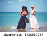 happy plus suze  adult women...   Shutterstock . vector #1426887269