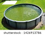 above ground pool with a... | Shutterstock . vector #1426913786