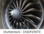 Airbus A320 Neo Engine. Modern...