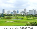 the city view of bangkok ... | Shutterstock . vector #142692364