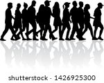 group of people. crowd of... | Shutterstock . vector #1426925300