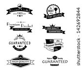 collection of premium quality... | Shutterstock .eps vector #142692844