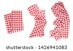 Red Checkered Clothes Set...