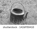 old camping kettle made of...   Shutterstock . vector #1426950410