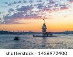 maiden's tower. kiz kulesi.... | Shutterstock . vector #1426972400