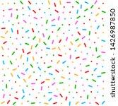 seamless candy donut glaze... | Shutterstock .eps vector #1426987850