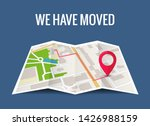 we have moved new office icon... | Shutterstock .eps vector #1426988159