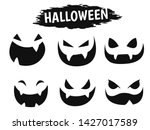emotional face icon showing a...   Shutterstock .eps vector #1427017589