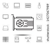 hardware  video card icon....