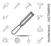 shisel  sharp icon. simple thin ...