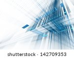 abstract business science or... | Shutterstock . vector #142709353