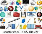 set of different object...   Shutterstock .eps vector #1427106929
