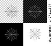 spider web icon isolated on... | Shutterstock .eps vector #1427111579