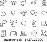 set of feedback icons  such as... | Shutterstock .eps vector #1427121200