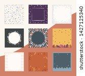 autumn sale background banner... | Shutterstock .eps vector #1427125340