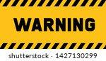 warning attention please do not ...   Shutterstock .eps vector #1427130299