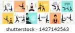 illustration of international... | Shutterstock . vector #1427142563