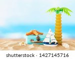 nautical  vacation and travel...   Shutterstock . vector #1427145716