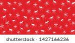stop malaria no mosquito bite... | Shutterstock .eps vector #1427166236