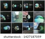 minimal brochure templates with ... | Shutterstock .eps vector #1427187059
