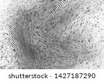 abstract monochrome grunge... | Shutterstock .eps vector #1427187290